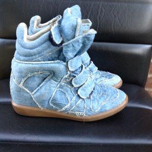 Isabel marant denim Bayley  sneakers size 39